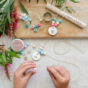 Eco gifts for kids lets create friendship necklaces