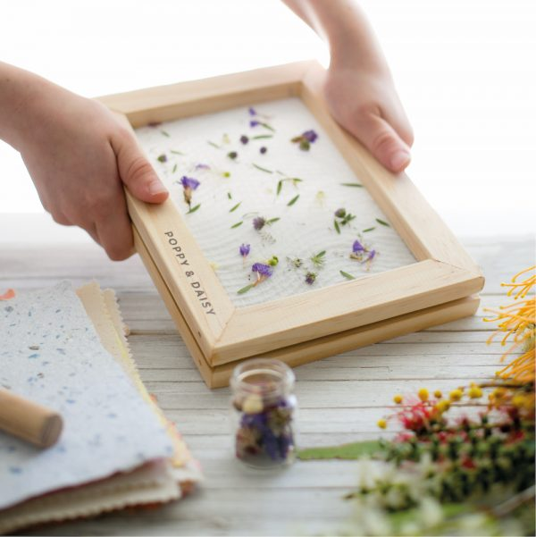 Eco gifts for kids lets create handmade paper