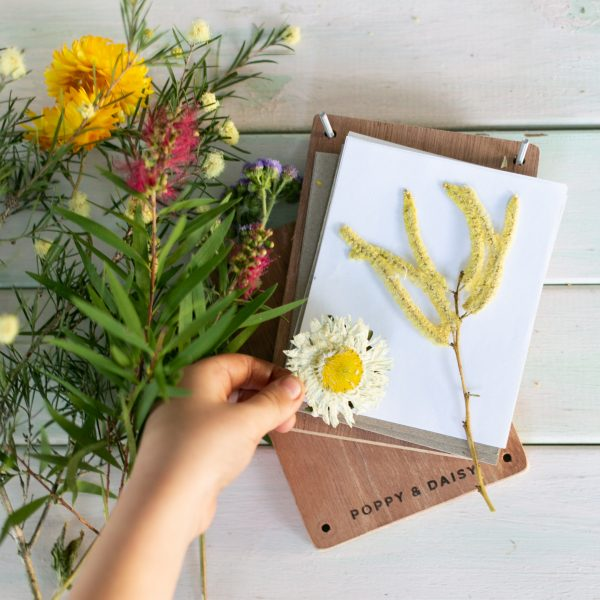 Kids eco gifts for kids lets create a flower press