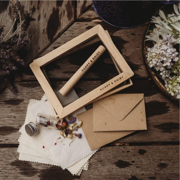 Lets create a handmade paper eco kit 1